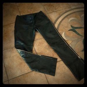 Soft Lamb Leather Pants